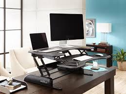 adjustable standing desk attachment. Exellent Adjustable VARIDESK Pro Plus 36 HeightAdjustable Standing Desk  370  FS Inside Adjustable Attachment D