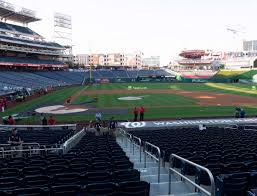 Washington National Seating Chart Views Nationals Park Section 129 Seat Views Seatgeek