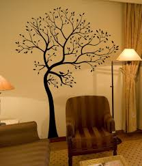lid 7947 decals by di lare large big tree bird wall