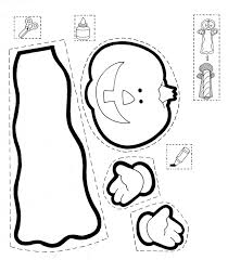Halloween Printable Cut Outs Coloring Pages   Free Coloring Pages