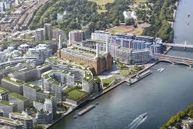 apple new head office. Riverside: The Battersea Development Apple New Head Office