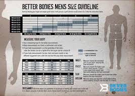 Gasp Clothing Size Chart Size Charts