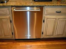 L Dishwasher Drawers Kitchenaid Not Draining Kitchen Aid  Drawer Drain