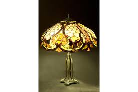 art nouveau lamp stained glass lamp table lamp lamp shade lamp stand