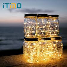 lighting in a jar. ITimo 10 LEDs Copper Wire Garland Lamp Jar Insert Light Strings Home Garden  Party Decoration Battery Lighting In A Jar