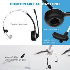 Amazon.com: Mpow V4.1 Bluetooth Headset/ Truck Driver Headset ...