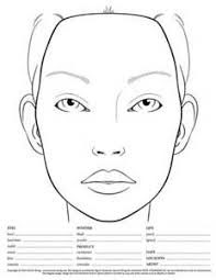 Skin Analysis Chart Blank Skin Analysis Chart Yahoo Image Search Results In