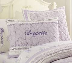 Lavender Quilts Color is a Very Pleasant Tone | HQ Home Decor Ideas & Image of: Ruffle Lavender Quilts Adamdwight.com