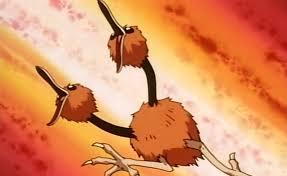 Doduo tenía una pre-evolución Pokémon y fue eliminada por sus cabezas