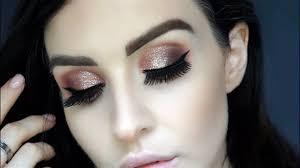 seaglass glitter eye makeup tarte talk