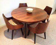 mid century modern dining room table. Mid Century Modern Round Dining Table Room O