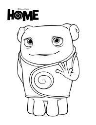 Kleurplaat Home Animaatjesnl