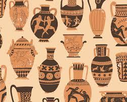 Grecian Pottery Designs Greek Pottery Pattern By Harrydrawspictures Greek Pottery