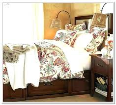 pottery barn king bed size bedding comforter farmhouse microwave bedspread full size