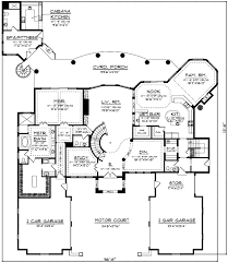 luxury design with detached studio apartment 89711ah House Plans With 3 Car Garage Apartment luxury design with detached studio apartment 89711ah floor plan main level 3 Car Garage with Apartment Floor Plans