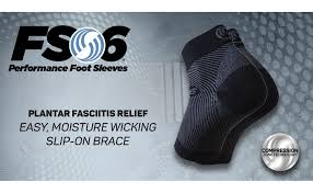 Os1st Fs6 Performance Foot Sleeve Two Sleeves For Plantar Fasciitis Pain Relief Heel Pain And Arch Support