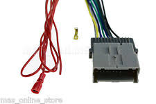 gmc wiring harness radio stereo install car wire wiring harness cable 5 chevy gmc cadillac pontiac fits