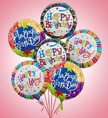6 Happy Birthday Balloons In Warwick Ri Petals Florist Gift Shop