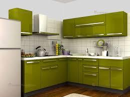 Latest Kitchen Designs Customfurnish Com L Shaped Green Kitchen L Shaped Modular