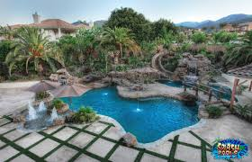 Pool Landscape Design Pool Landscaping Design Ideas With Pic Of Luxury Swimming Pool