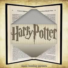 Book Folding Pattern Harry Potter Logo For 224 Folds Id0040065