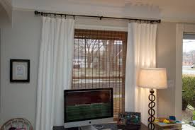 office curtain ideas. Welcoming And Warm Living Room Remodeling Idea With Custom Window Curtain Rods Black Metal Office Ideas D