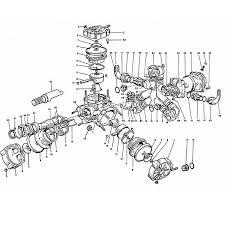Hypro model d100 d120 pump parts