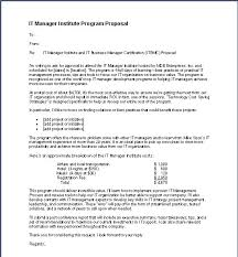 Sample Cost Proposal Template