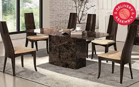 inspiration solid marble dining table best austin collection costco uk room inside plan set and chair top round