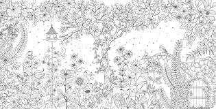 Tổng hợp các bức tranh tô màu khu vườn bí mật hấp dẫn nhất – Chia sẻ 24h