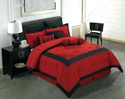 Red And Black Bedding Excellent Red Bedroom Set Bed Bath Red Black ...