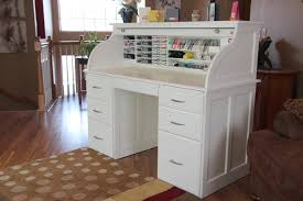 alluring white desk with storage overview