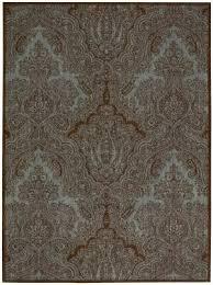 joseph abboud majestic maj01 teal chocolate area rug