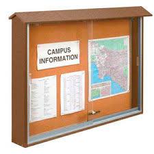 Outdoor Sliding Door Bulletin Boards Enchanting Exterior Bulletin Boards Model Collection