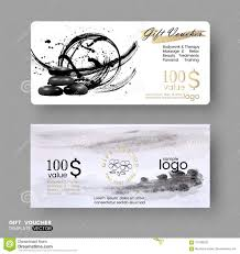 Massage Therapy Business Card Templates Free Gift Voucher