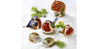 royal crown derby robin ornament