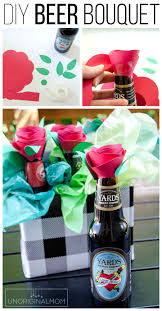 diy beer bouquet as an anniversary gift or valentine s gift for your man giftsformen