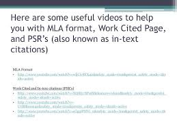 Ppt Mla Format Powerpoint Presentation Id5651567