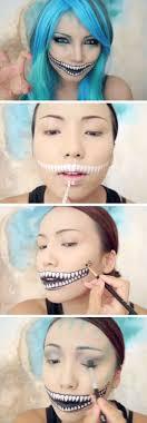 description freaky cheshire cat makeup tutorial 20 easy makeup tutorials for