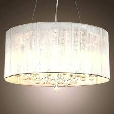 clip on lamp shade chandelier