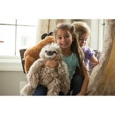 three toed sloth stuff plush real cuddling gift ideas for kids 1907655954