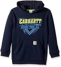 Carhartt Boys Sweatshirt Pullover Sweater Amazon Co Uk