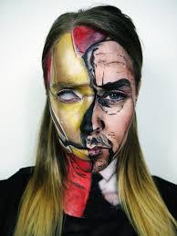 iron man makeup