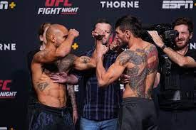 UFC Vegas 31 loses preliminary card ...