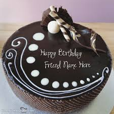Birthday Chocolate Cake Colorfulbirthdaycaketk