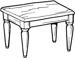 Small Picture Kitchen Table coloring page Free Printable Coloring Pages