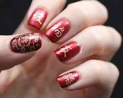 Chinese Nail Art Designs Copycat Claws Chinese New Year Nail Art Aka Sunday Stamping