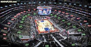 Staples Center Boxing Seating Chart Staples Center Seat Numbers Detailed Seating Chart La