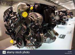 BMW 5 Series bmw aircraft engines : Munich, Germany - 12.07.2014: An engine on display at the BMW ...