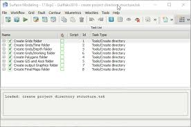 How To Create A Directory Automatically Create A Folder Structure In A Petrosys Project Petrosys